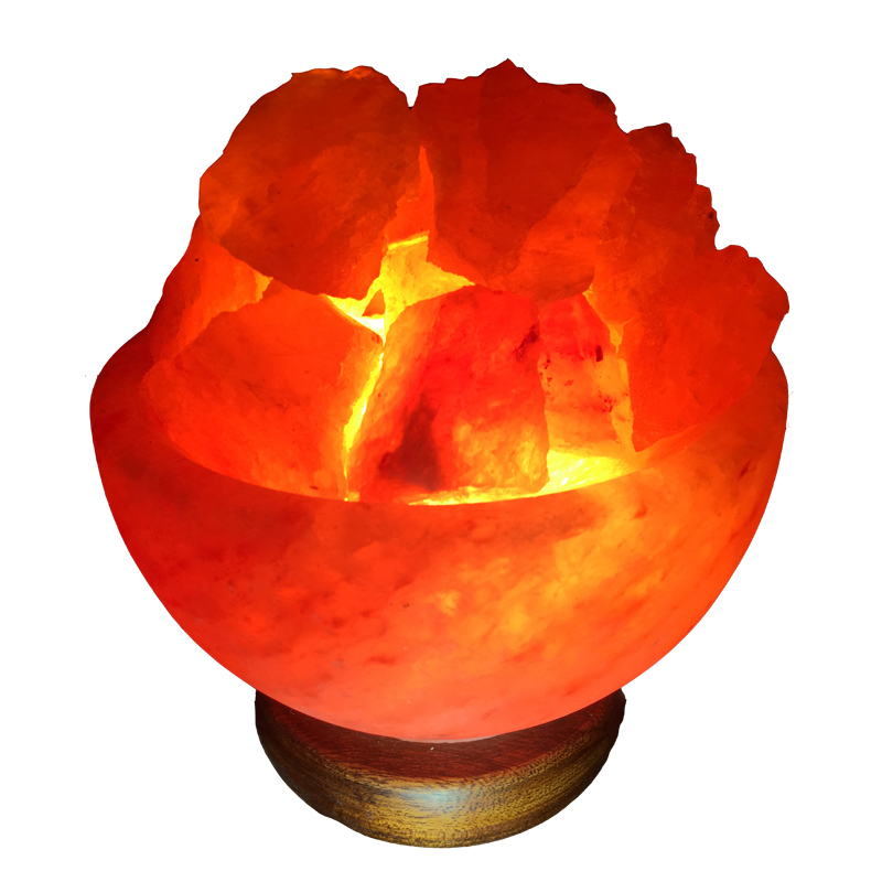 Fire Bowl Salt Lamp Image