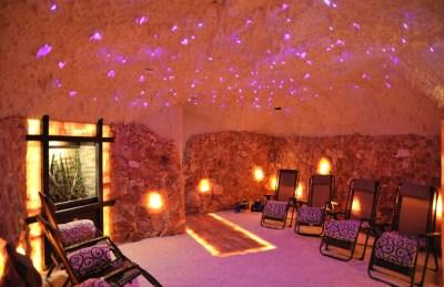 Natures Salt Cave Built By Select Salt