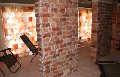 Pink Himalayan Salt Walls | Salt Therapy Spa | Ottawa, Canada