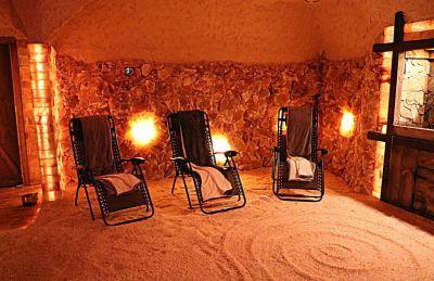 Therapeutic Salt Cave in Georgia |Salt Cave Construction