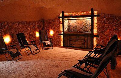 Building a Salt Cave | Salt Therapy Water Cascade