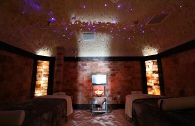Himalayan Salt Room For Massage