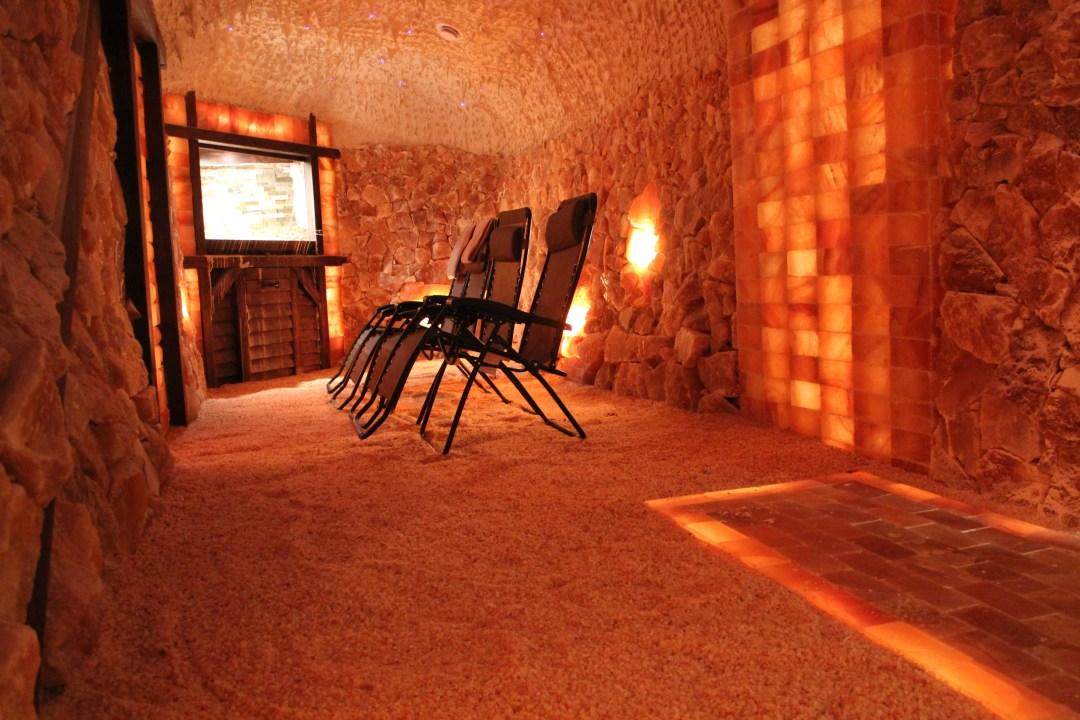 The Salt Cave of Kokoro Spa, Owen Sound, Ontario