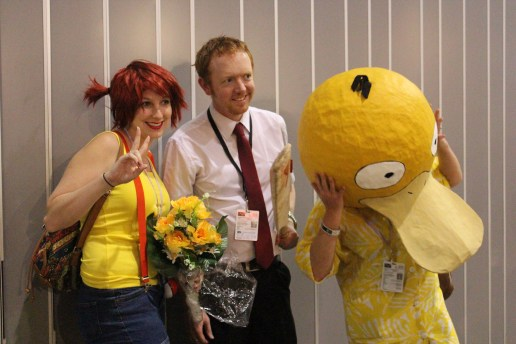 Misty, Psyduck, and... Shaun of the Dead?