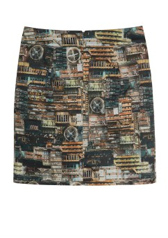 Apocalyptic City Skirt.