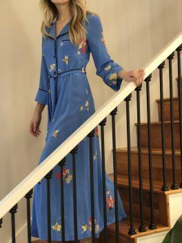 Ganni Silk Dress.