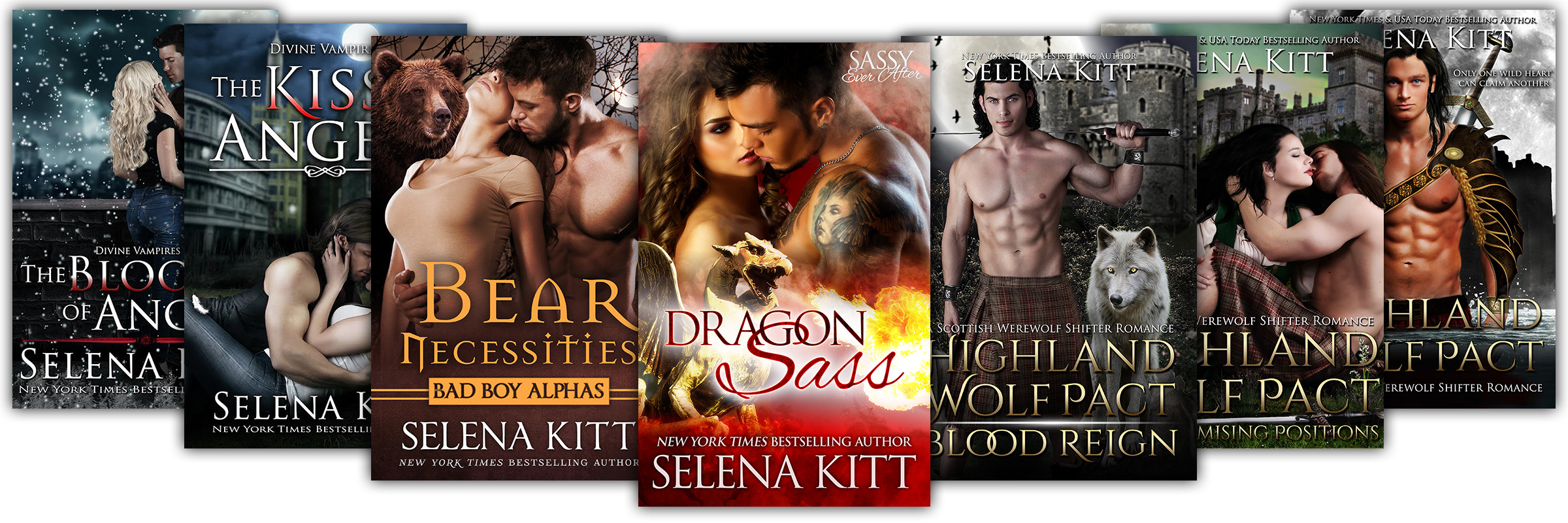 Titles on Kindle Unlimited by Selena Kitt