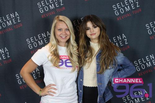 Selena Gomez Performs at 'Revival Tour' in Charlotte, NC on June 7