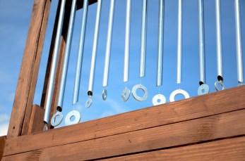scatole sonore- tubi e rondelle