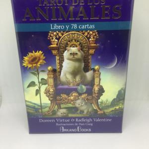 tarot de los animales con libro explicativo