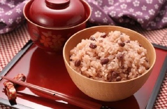 Hasil gambar untuk beras merah khas jepang