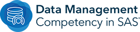 SAS Data Management Competency Badge