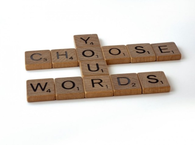 choose your own words