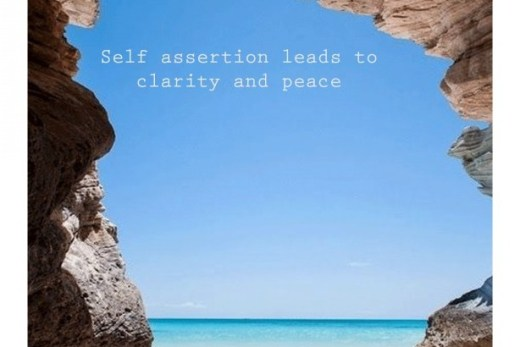 self assertion is clarity