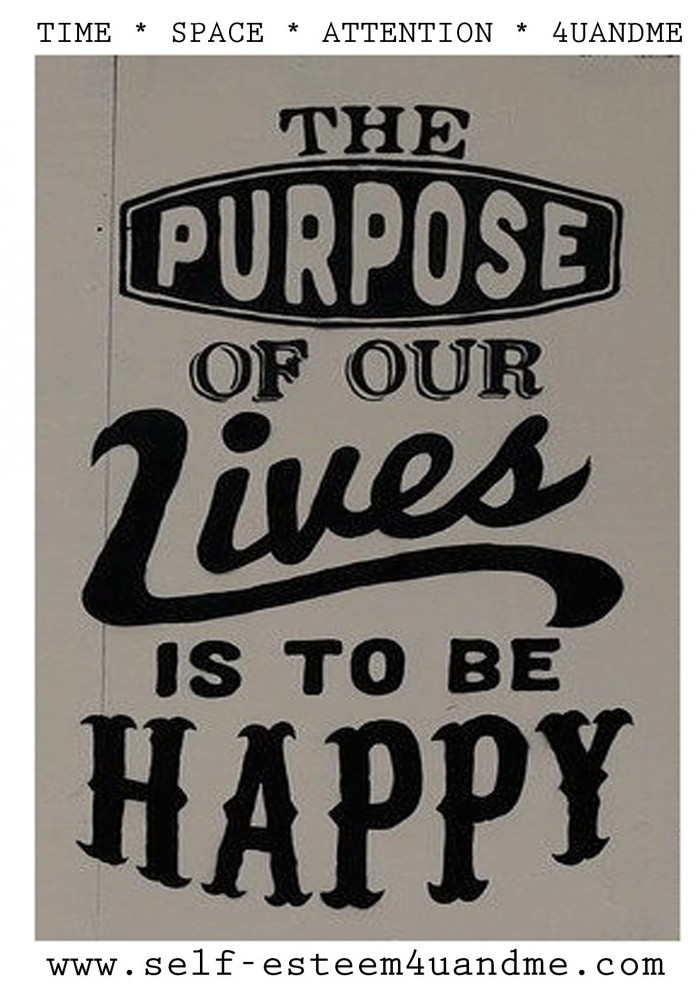 purposeful lives are happy lives