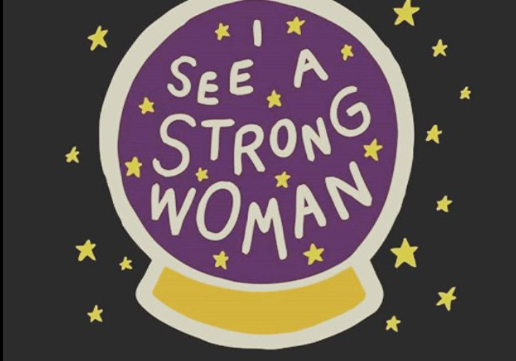 I see a strong woman oh yeah