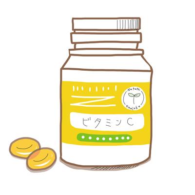 ビタミンCサプリメントの画像