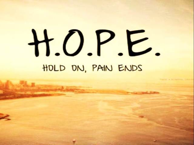 Image result for hold on pain ends