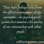 65 Top Popular Quotes about Hurt Feelings