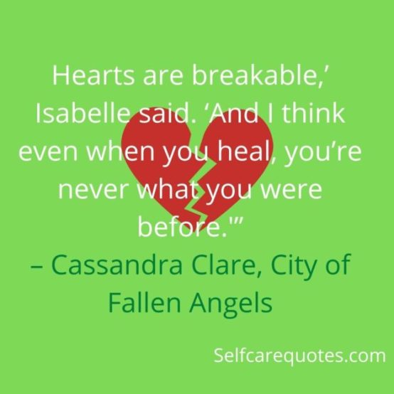 Specific Broken Heart Quotes