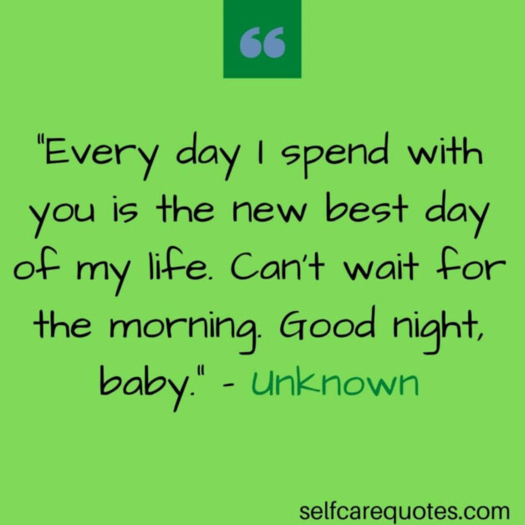 Good Night Quotes for Someone Special