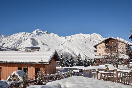 Chalet with mountain views in St Martin de Belleville