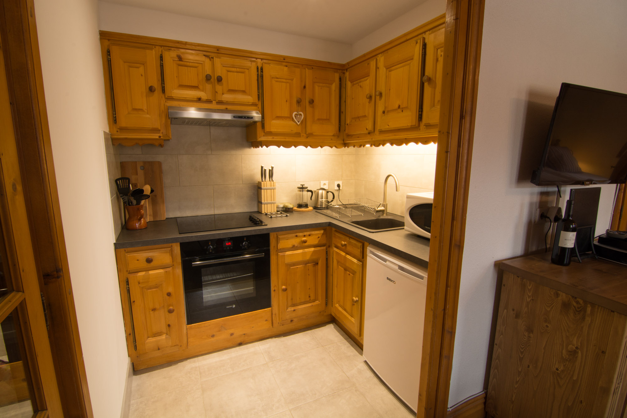 Newly renovated apartment in the 3 Valleys