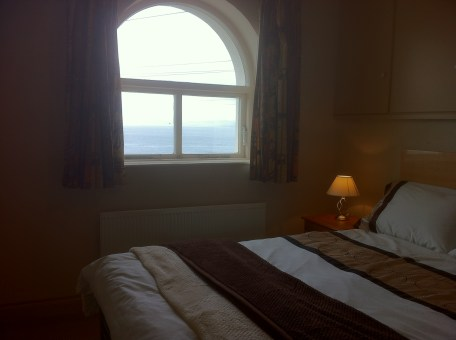 Bedroom 1 - with sea views