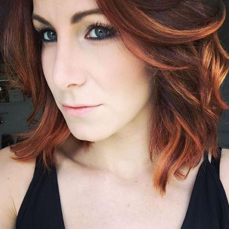 selfconceptofjay selfie redhair longbob
