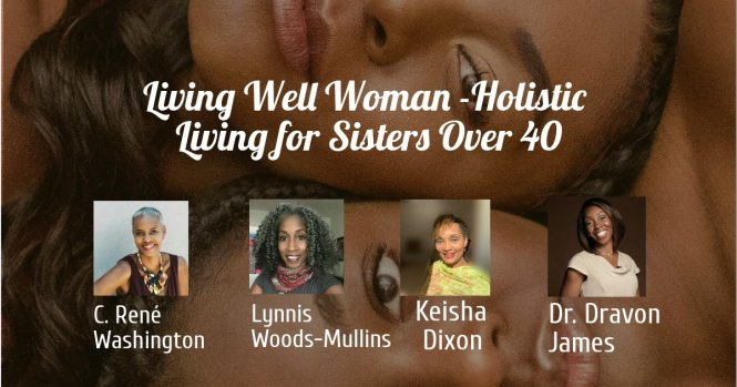 living well woman show banner