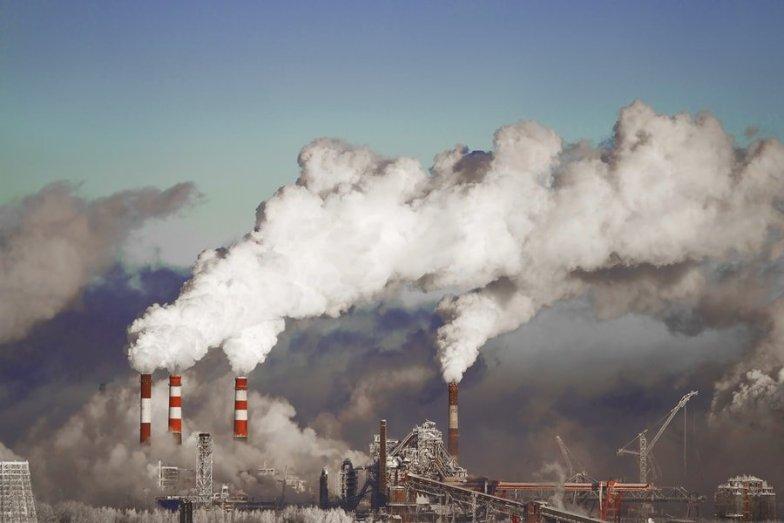 Factory smoke