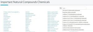 important-natural-compounds