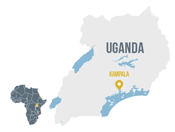 Uganda self help africa full name republic of uganda population 4427 million world bank 2018 population growth yearly 328 capital kampala gumiabroncs