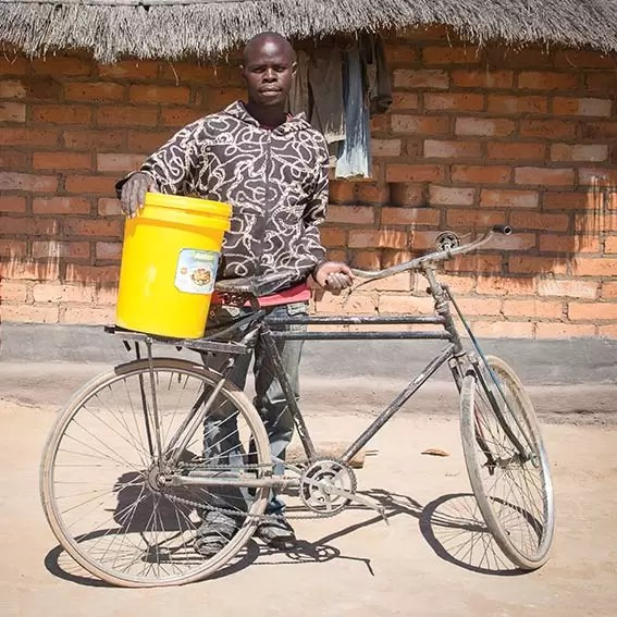 Charity Christmas gift for Africa bicycle