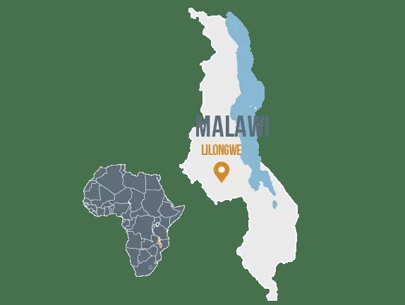 Malawi Self Help Africa UK Worldwide - Malawi map png