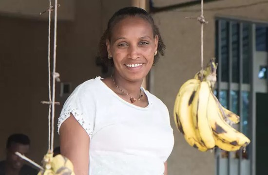 SMALL LOAN ENABLES BEZINA'S SUCCESS