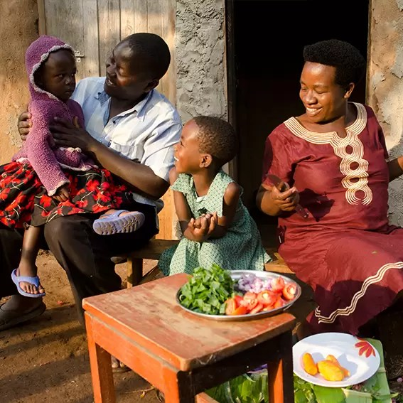 Christmas gift for Africa feed a family