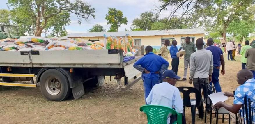 Zambia food distribution