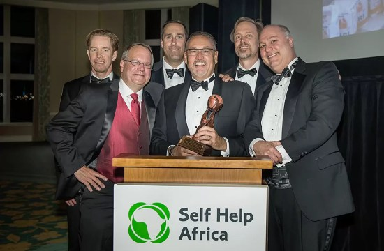 SELF HELP AFRICA HONORS STATE STREET