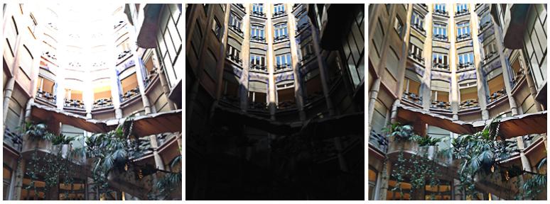 Barcelona - Casa Mila (La Pedrera) lobby