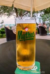 Mythos Beer in Crete, Greece on SelfishMe Travel