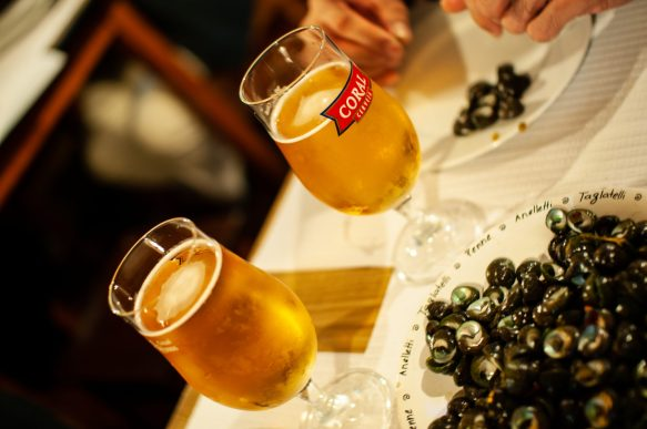Coral Beer in Funchal, Madeira - image taken by DaniLew LLC with a Nikon D300 and Sigma 30 lens