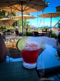 Raspberry Margarita in Beau Vallon, Seychelles on SelfishMe Travel