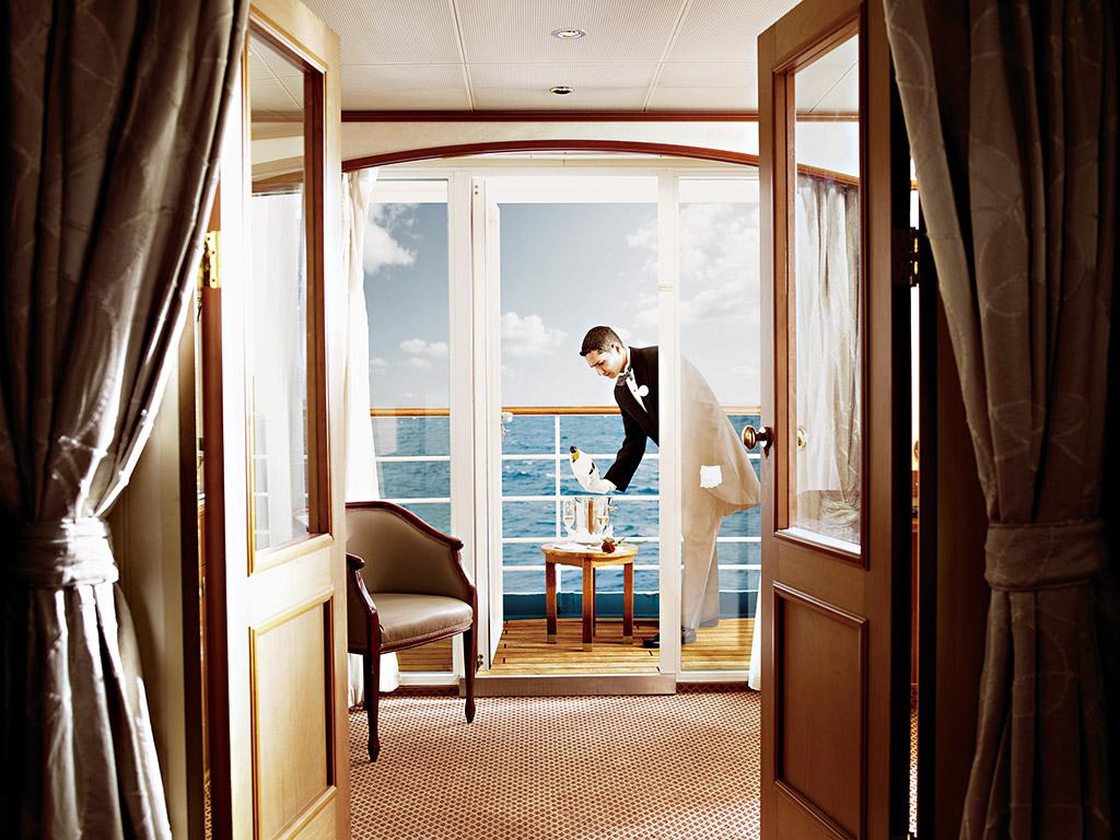 Silversea Cruises Butler on SelfishMe Travel