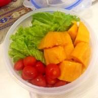 Salad asal jadi