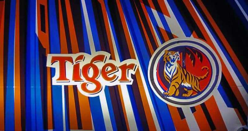 Tiger beer- Customer tape logo