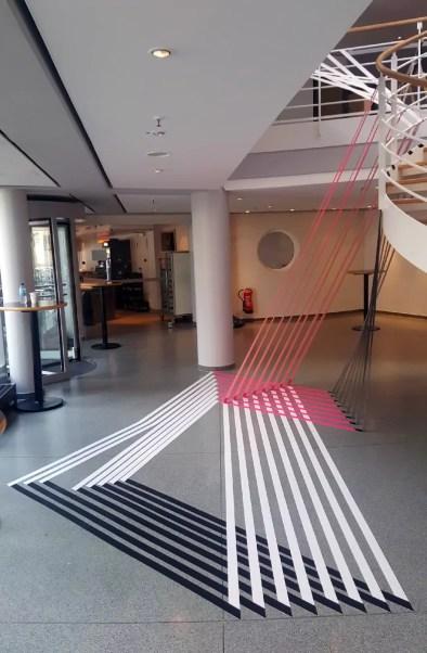 Image 03- 3D room installation for Gruner&Jah event