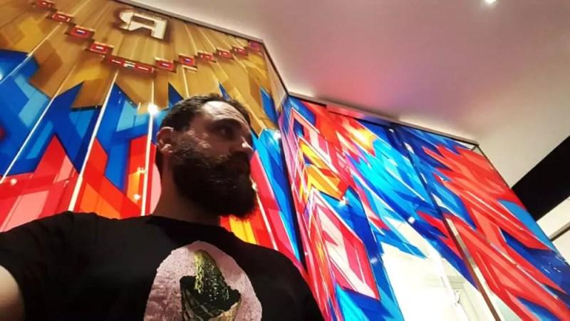 Ostap- The Artist in The Haus- Berlin Art Bang-2017