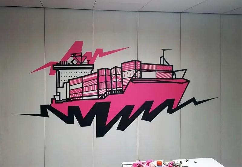 Cargo-tape-art-google-office-gestaltung-selfmadecrew-zurich-2016