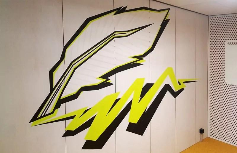 Schreibfeder-tape-art-google-office-design-selfmadecrew-zurich-2016